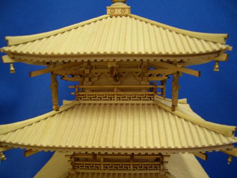 法隆寺 五重の塔 5層