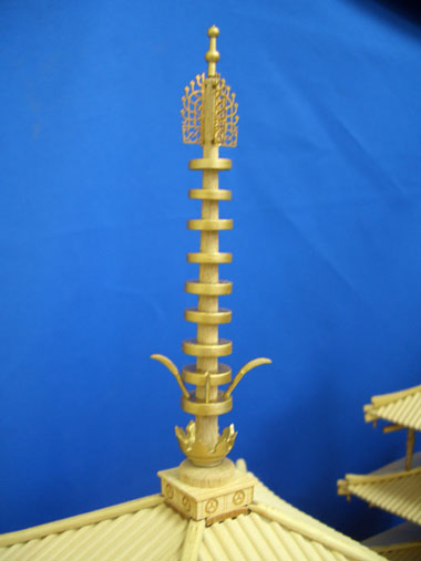 法隆寺 五重の塔 相輪