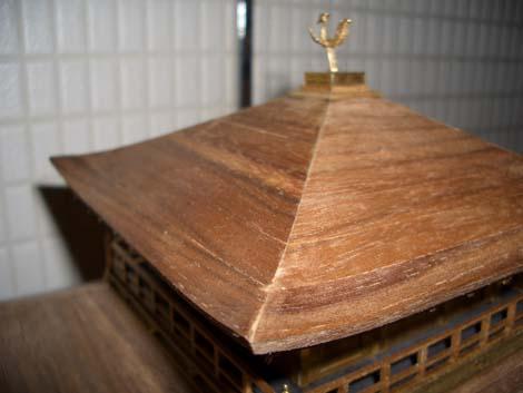 金閣寺 屋根