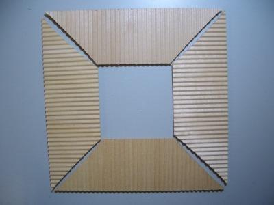 3層屋根板の加工