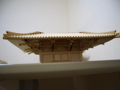2層屋根の接着