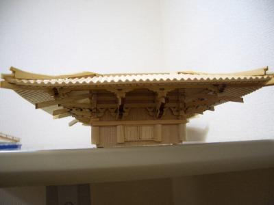 3層屋根の接着