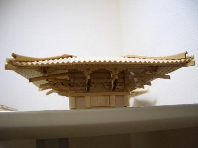 4層屋根の接着