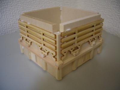2層白壁の組立て