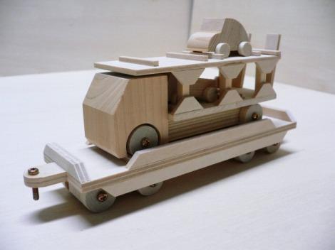 SL トレーラー積載車