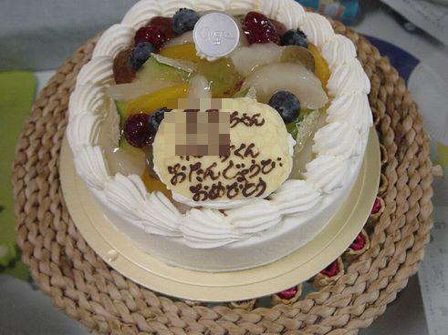 オペラ座のケーキだす。