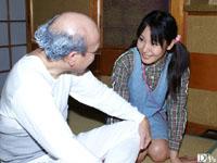 【無修正】おじいちゃんのおっきいよ。孫と初めて編  ともちゃん