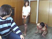 【無修正】日増しに強くなる四十路母の性欲に父倒れ息子に懇願