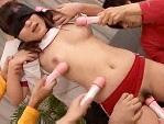 【無修正/中出し】ノーブラTシャツの美少女に中出し!・・・体操着でぶっかけ、美乳!