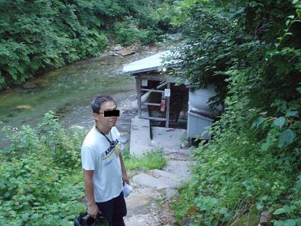 木賊温泉共同浴場
