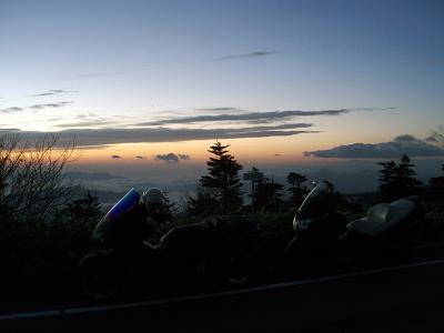 日本最高地点の日の出