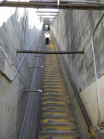 頂上の階段