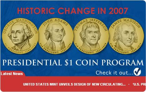 1 dollar coins