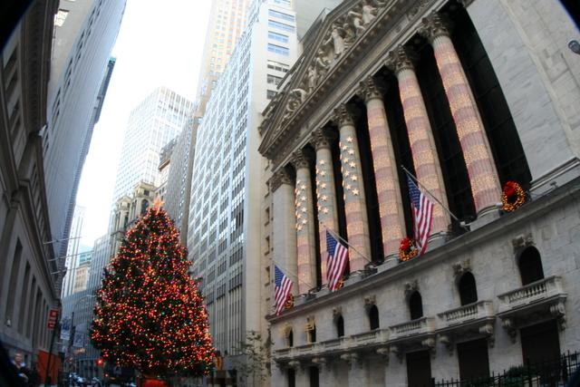 christmas NYSE