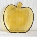 あめ色リンゴ皿