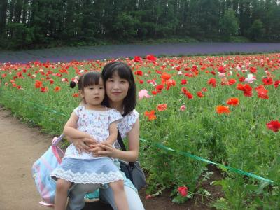 2007.7.6 ファーム富田にて