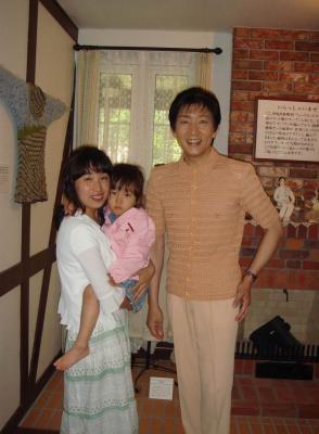 2007.7.7 広瀬先生 ニット館6 広瀬先生と♪