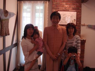 2007.7.7 広瀬先生 ニット館5 みんなで記念撮影