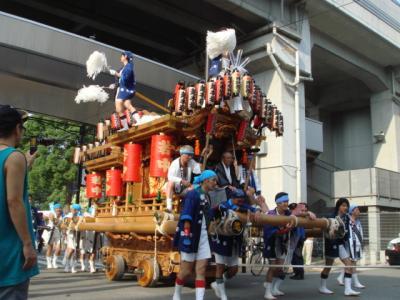 2007.8.27 市役所 お祭り だんじり