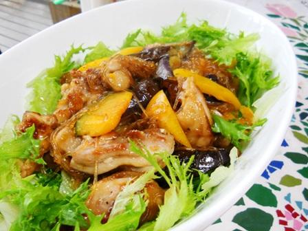 お野菜と春雨鶏肉☆アジアン風味