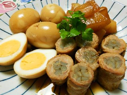 ごぼう巻の煮物