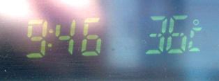 朝から36℃