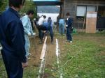 掘削線引き