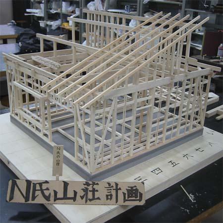 N氏山荘模型