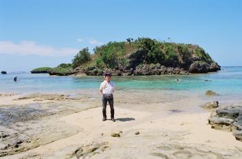 沖縄石垣島 星の砂浜