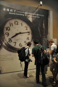 11時30分 平和記念資料館(原爆投下)