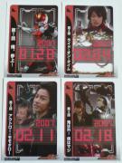 仮面ライダー電王 vol.1 カード表