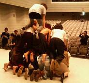 終演後の舞台★