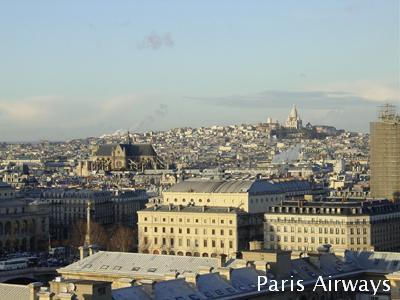 パリ ノートルダム サクレクール寺院