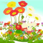 お花でお祝い