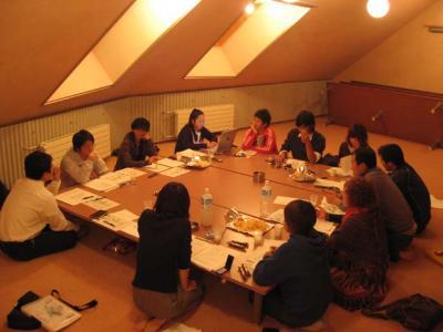 会議の風景