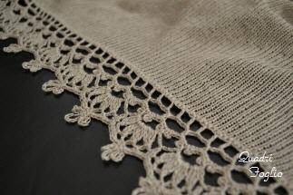 2011 モモンガ 袖口の縁編み