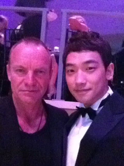 with Sting