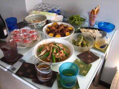美味しい料理の数々