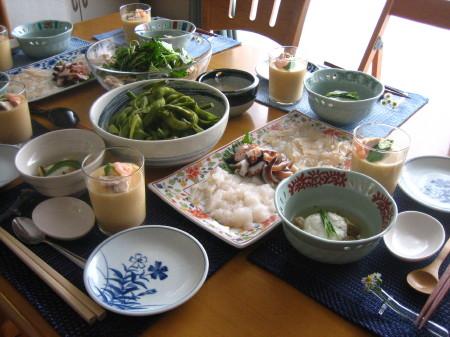 素敵な料理の数々