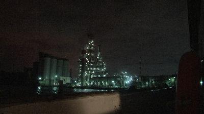 工業地帯の夜景