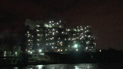 工業地帯夜景