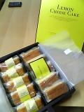 夏季限定レモンチーズケーキ