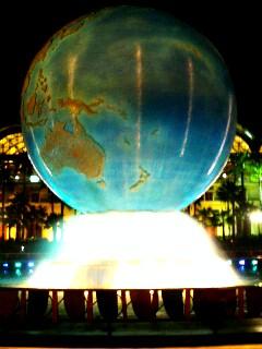 DRシーの地球儀