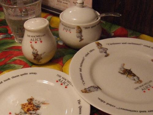 アリスのお皿