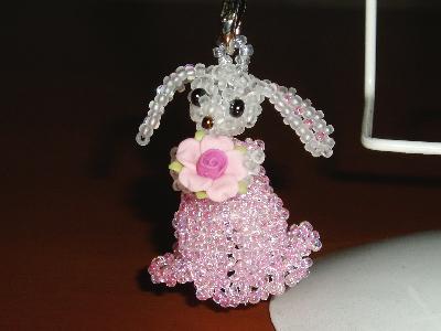 ミミ長ウサギ・ピンク