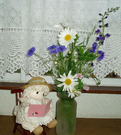 頂き物お花