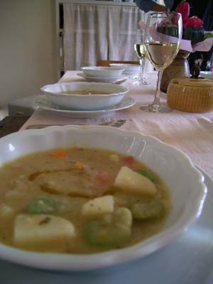 春野菜のミネストラ