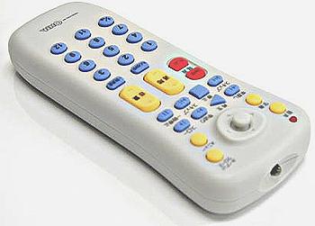ほとんどのメーカー対応DVD/テレビ 汎用リモコン