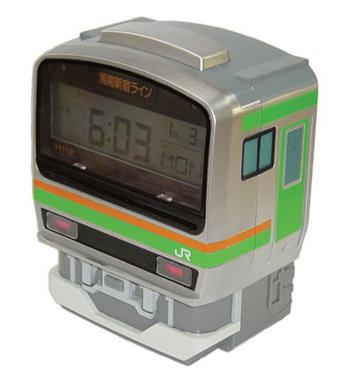『JR東日本 E231系 目覚まし時計』¥6000