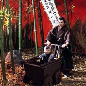 時代劇シリーズ子連れ狼(映画版)若山富三郎